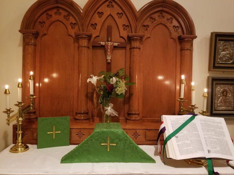 Friday Morning: MP/Eucharist
