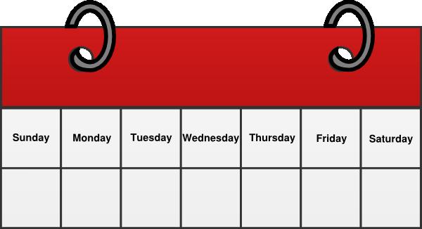 Week of May 5th church calendar