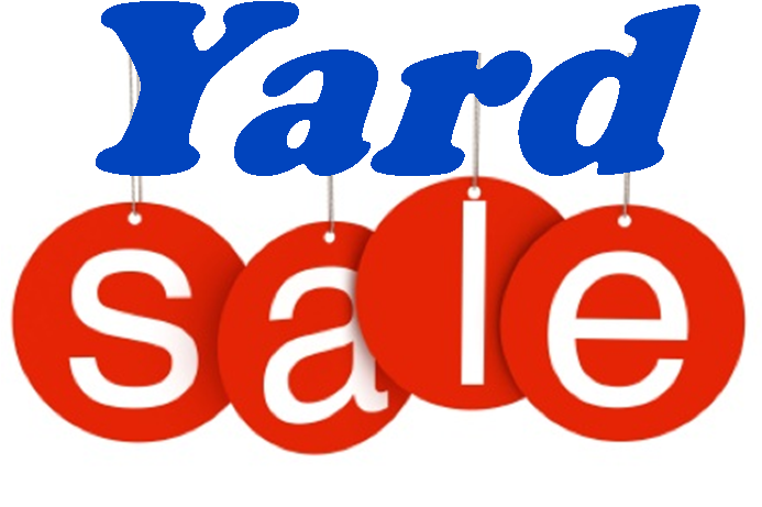 ST MICHAEL'S ANNUAL YARD SALE IS BACK!